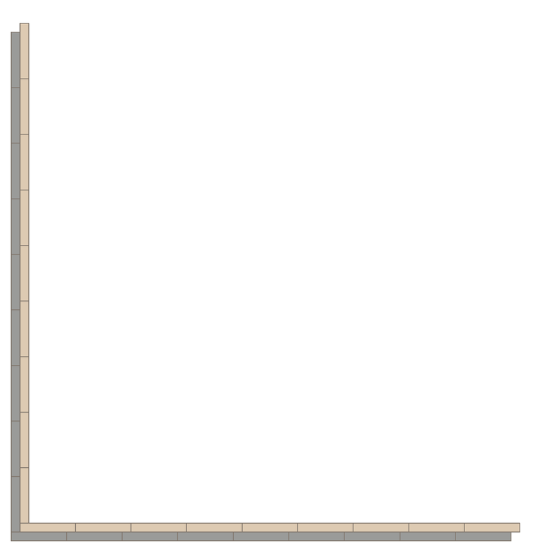 Donner Grey/White LPM från Byggfabriken