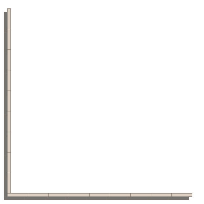 Donner Revival Grey/Dover White LPM från Byggfabriken