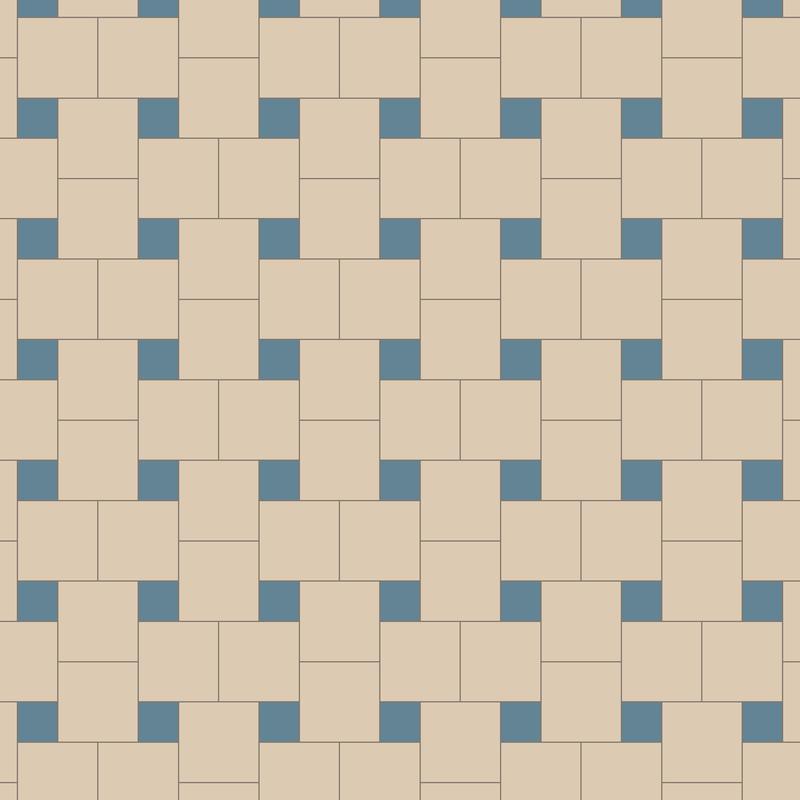 Helsinki White/Blue KVM från Byggfabriken