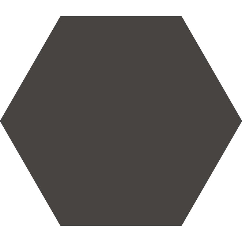 Hexagon 127 mm - Black från Byggfabriken
