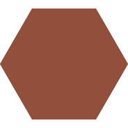Hexagon 127 mm – Red från Byggfabriken