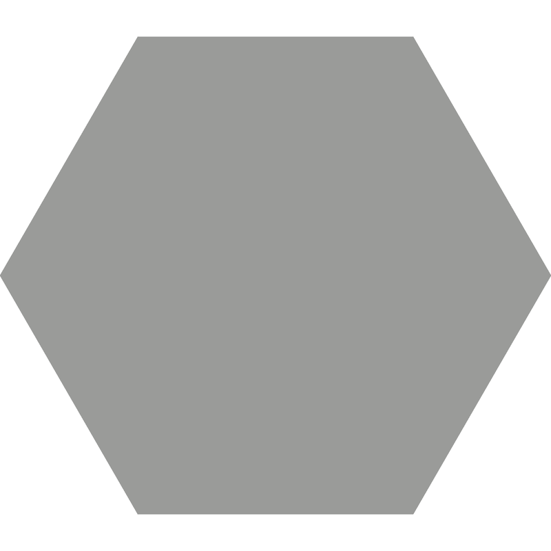 Hexagon 185 mm – Grey från Byggfabriken