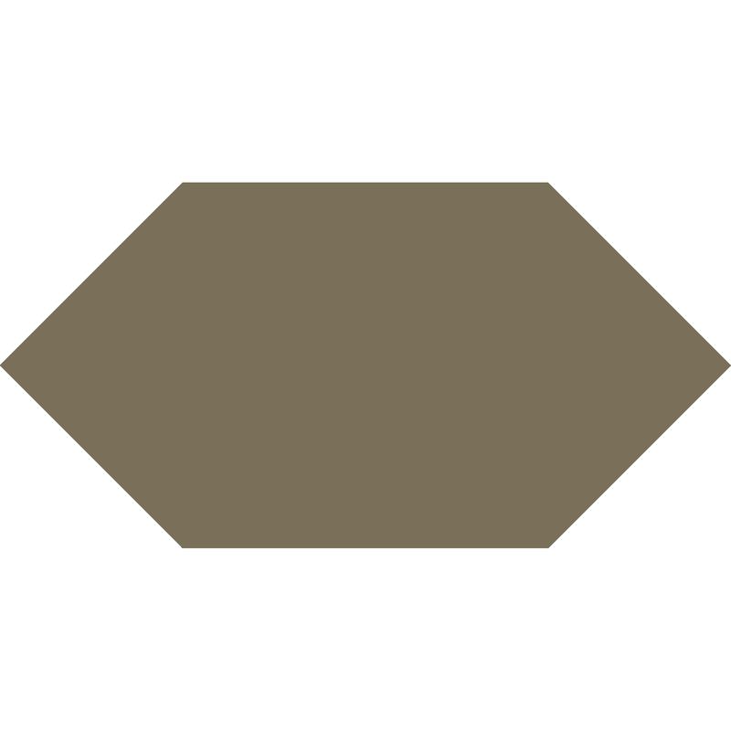 Hexagon L75 mm - Green från Byggfabriken