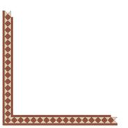 Kingsley Red/White LPM från Byggfabriken