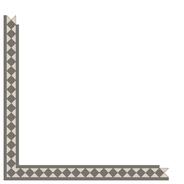 Kingsley Revival Grey/Dover White LPM från Byggfabriken