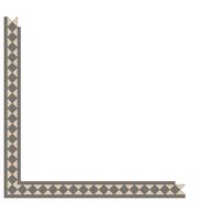 Kingsley Revival Grey/White LPM från Byggfabriken