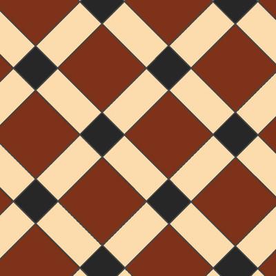 Mönster - Victorian Floor Tiles klinker