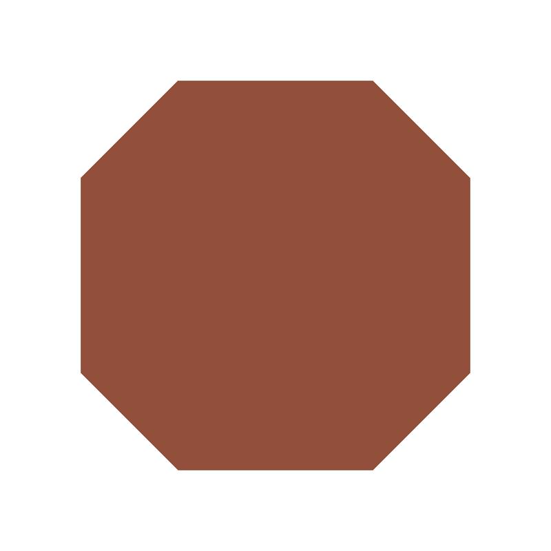 Octagon 106 mm - Red från Byggfabriken