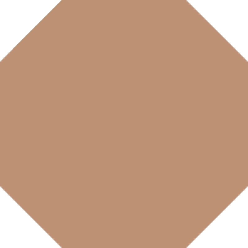 Octagon 151 mm - Buff från Byggfabriken