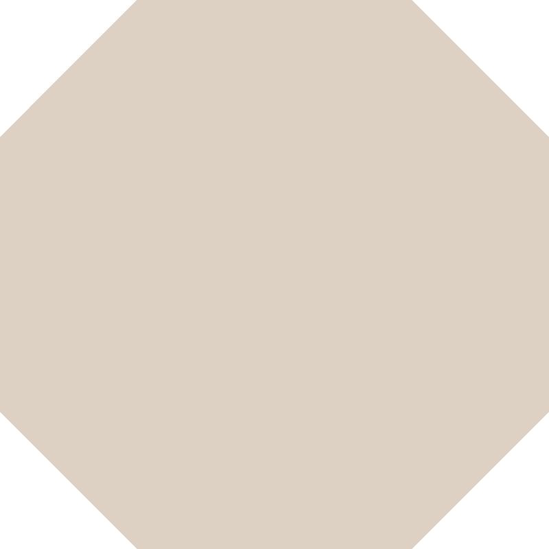 Octagon 151 mm - Dover White från Byggfabriken
