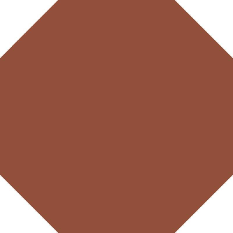 Octagon 151 mm – Red från Byggfabriken