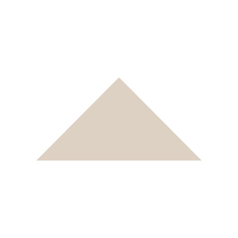 Triangle 104 mm - Dover White från Byggfabriken