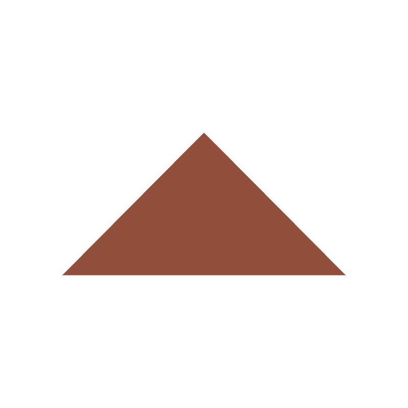 Triangle 104 mm – Red från Byggfabriken