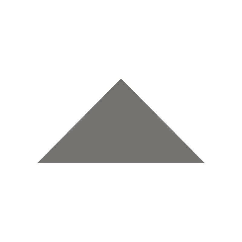 Triangle 104 mm - Revival Grey från Byggfabriken