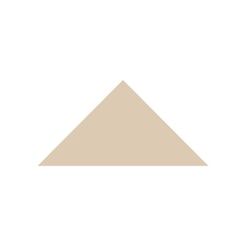 Triangle 104 mm - White från Byggfabriken
