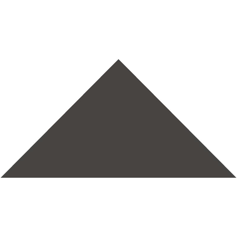 Triangle 149 mm - Black från Byggfabriken