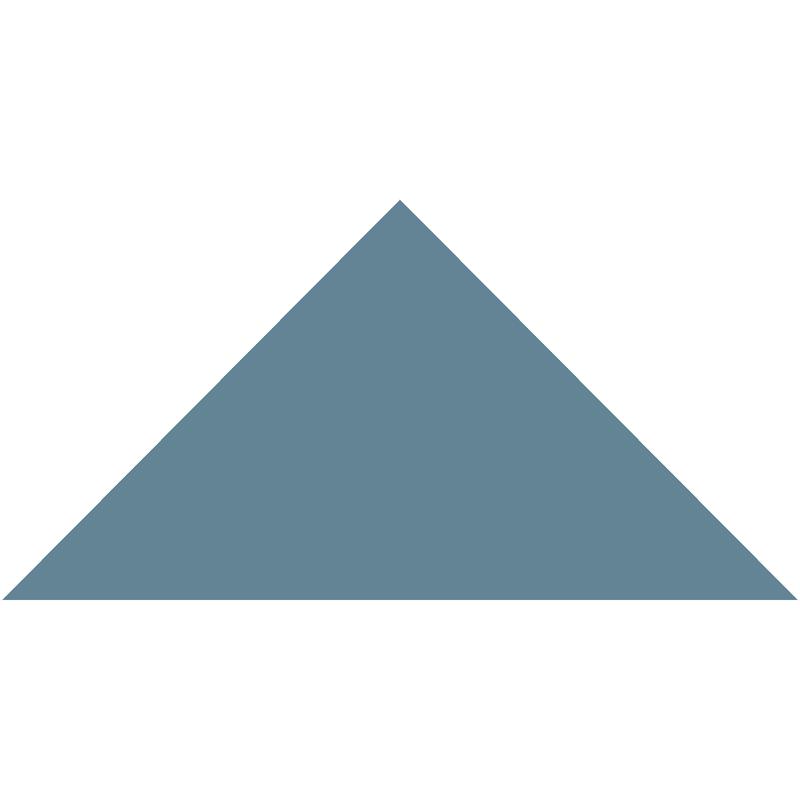 Triangle 149 mm – Blue från Byggfabriken