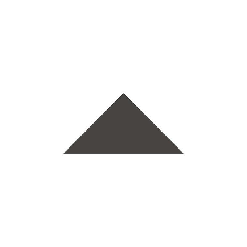Triangle 73 mm - Black från Byggfabriken