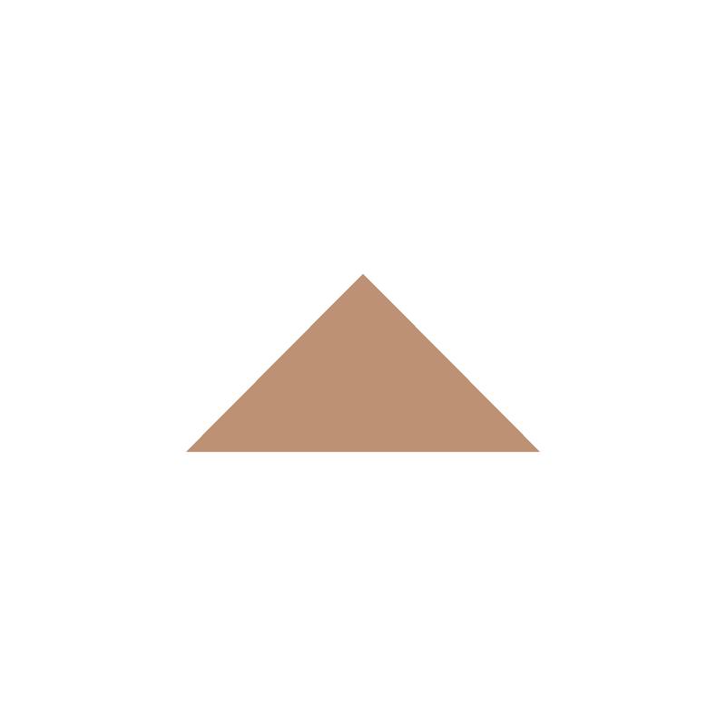 Triangle 73 mm - Buff från Byggfabriken