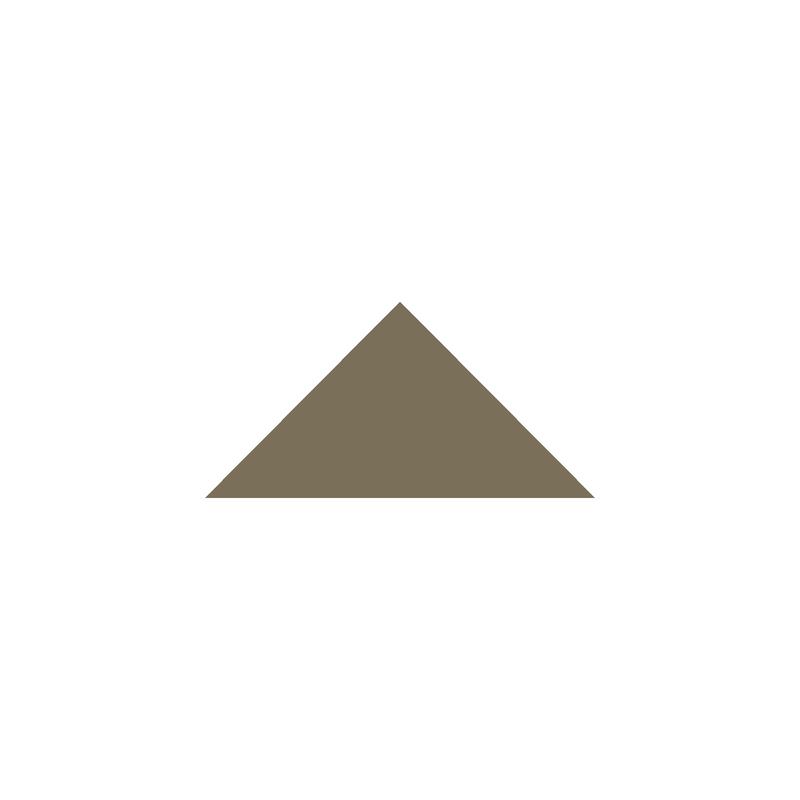 Triangle 73 mm – Green från Byggfabriken