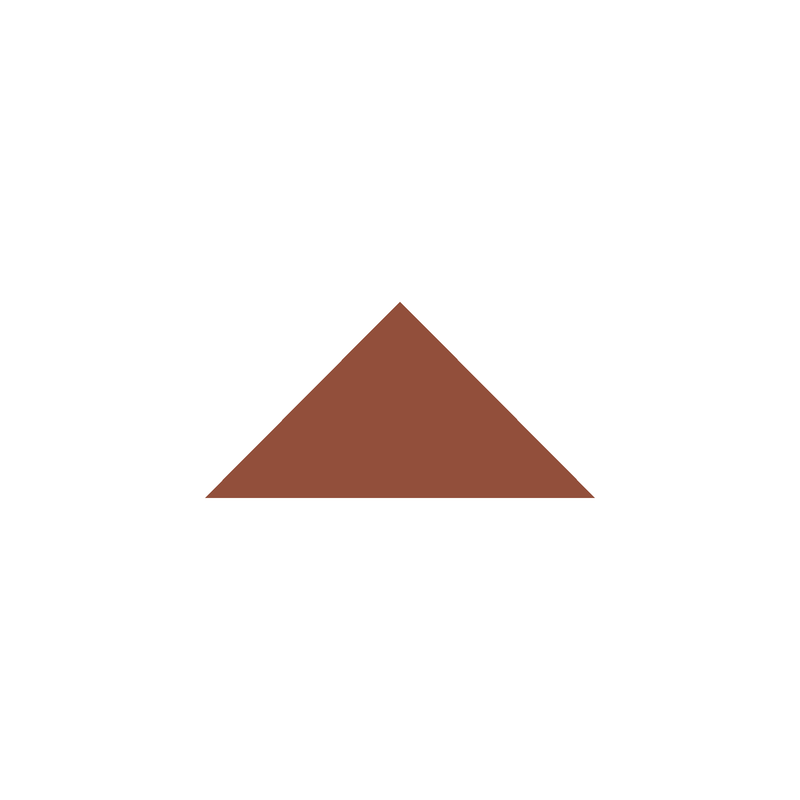Triangle 73 mm - Red från Byggfabriken