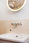 Duschrum med porslinsvask
