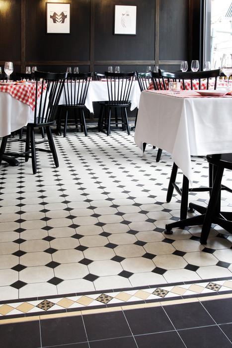 "Restauranggolv i mönstret ""York"""
