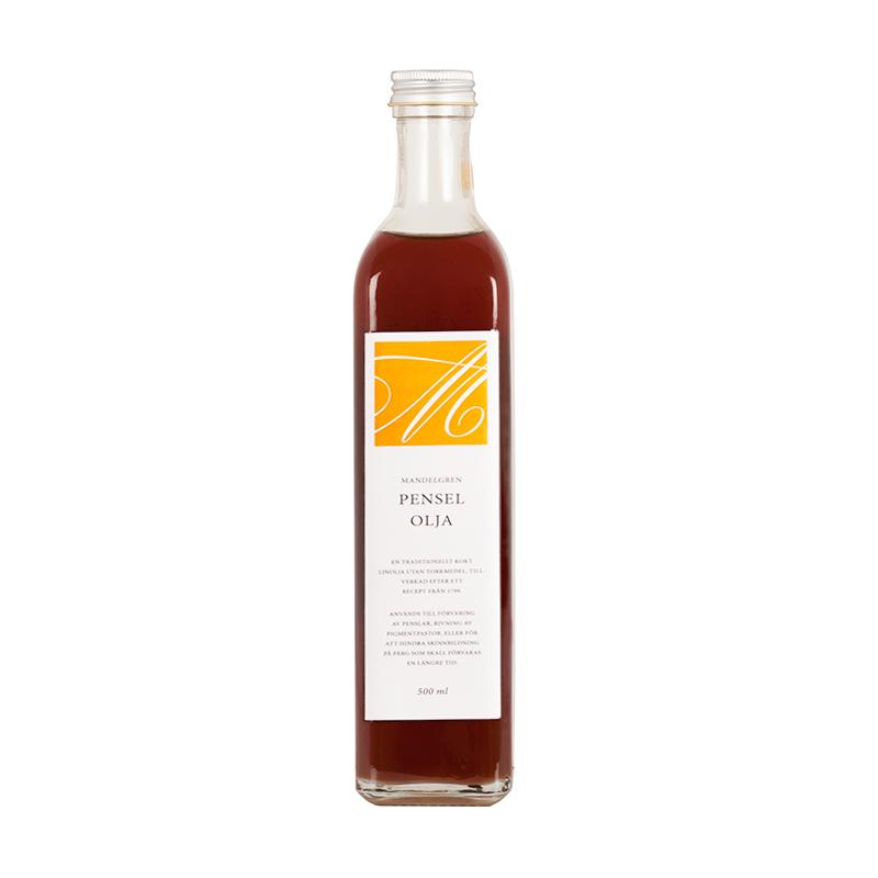 Linolja, Penselolja – 500 ml från Byggfabriken