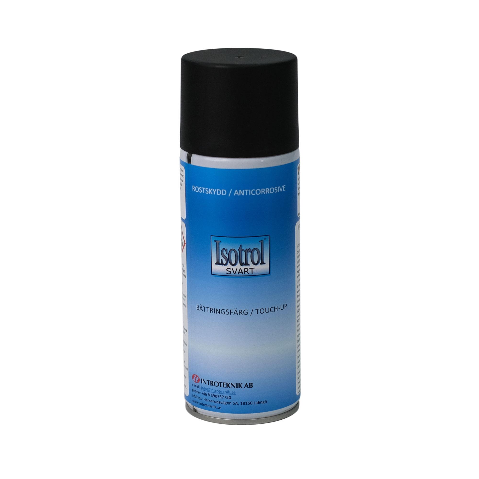 Isotrol Svart Spray från Byggfabriken
