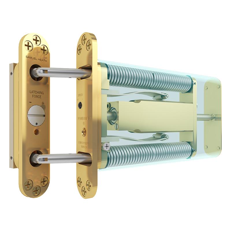 Dold dörrstängare Powermatic från Byggfabriken