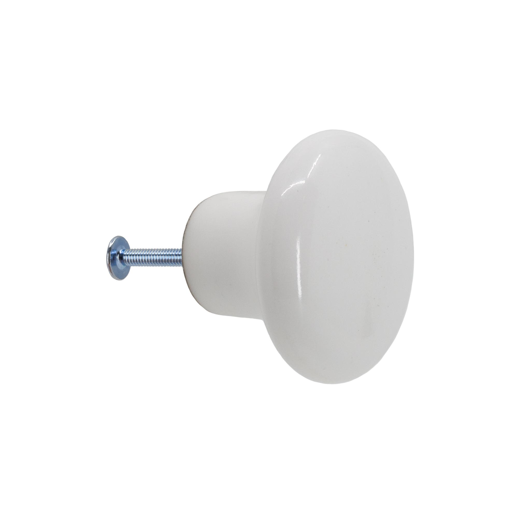 Porslinsknopp Möllevången 32 mm från Byggfabriken