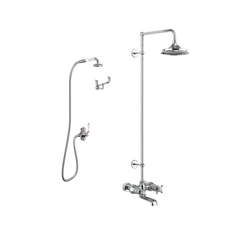 Kar- och duschblandare Tay 180 mm från Byggfabriken