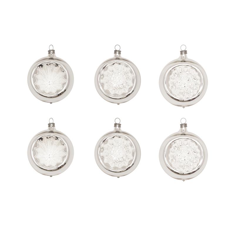 Glaskula Silver 6-pack från Byggfabriken