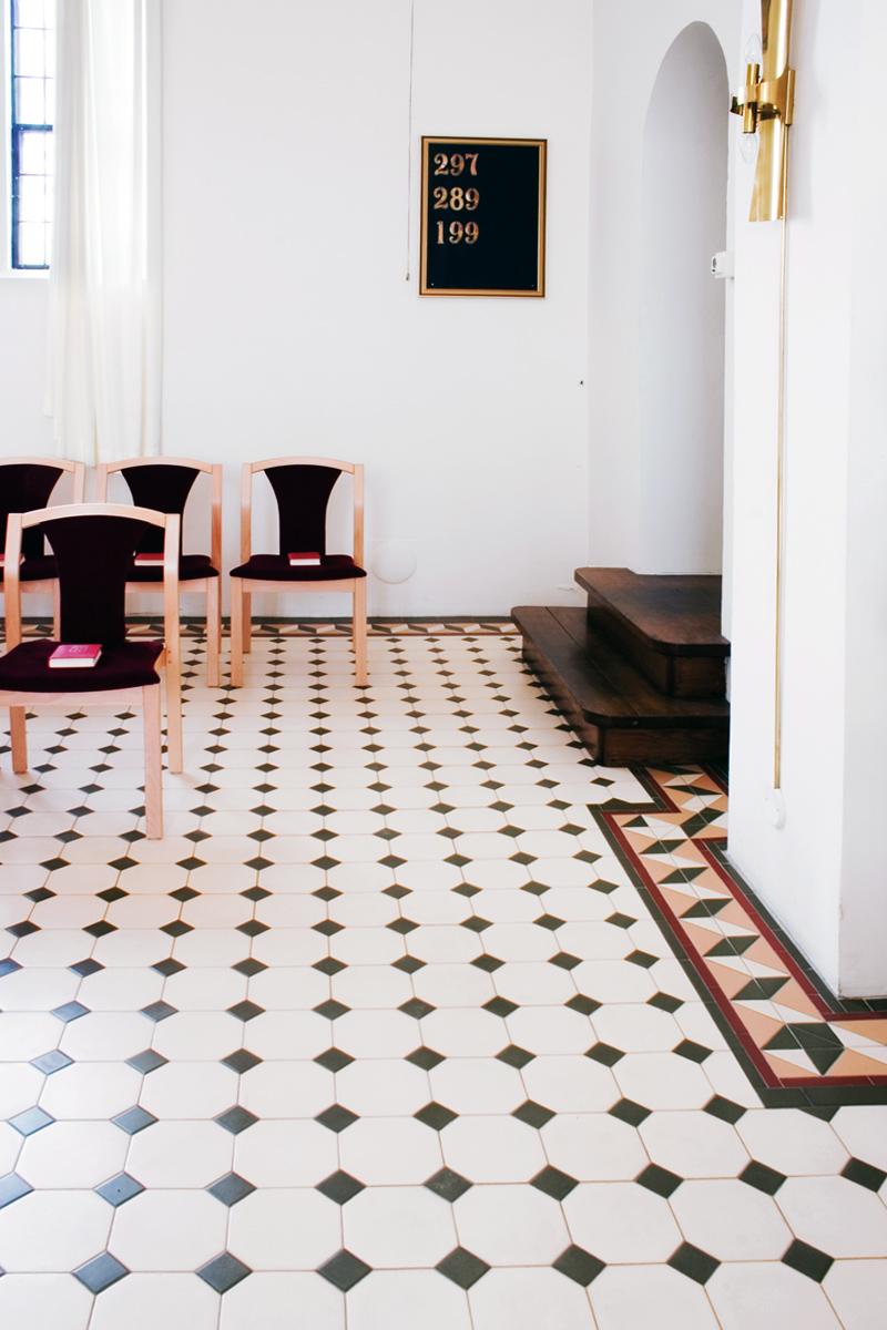 Victorian Floor Tiles - Gammaldags klinker