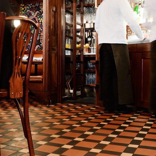 Victorian floor tiles - Engelska klinkers