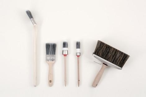 Rengöra penslar oljemålning