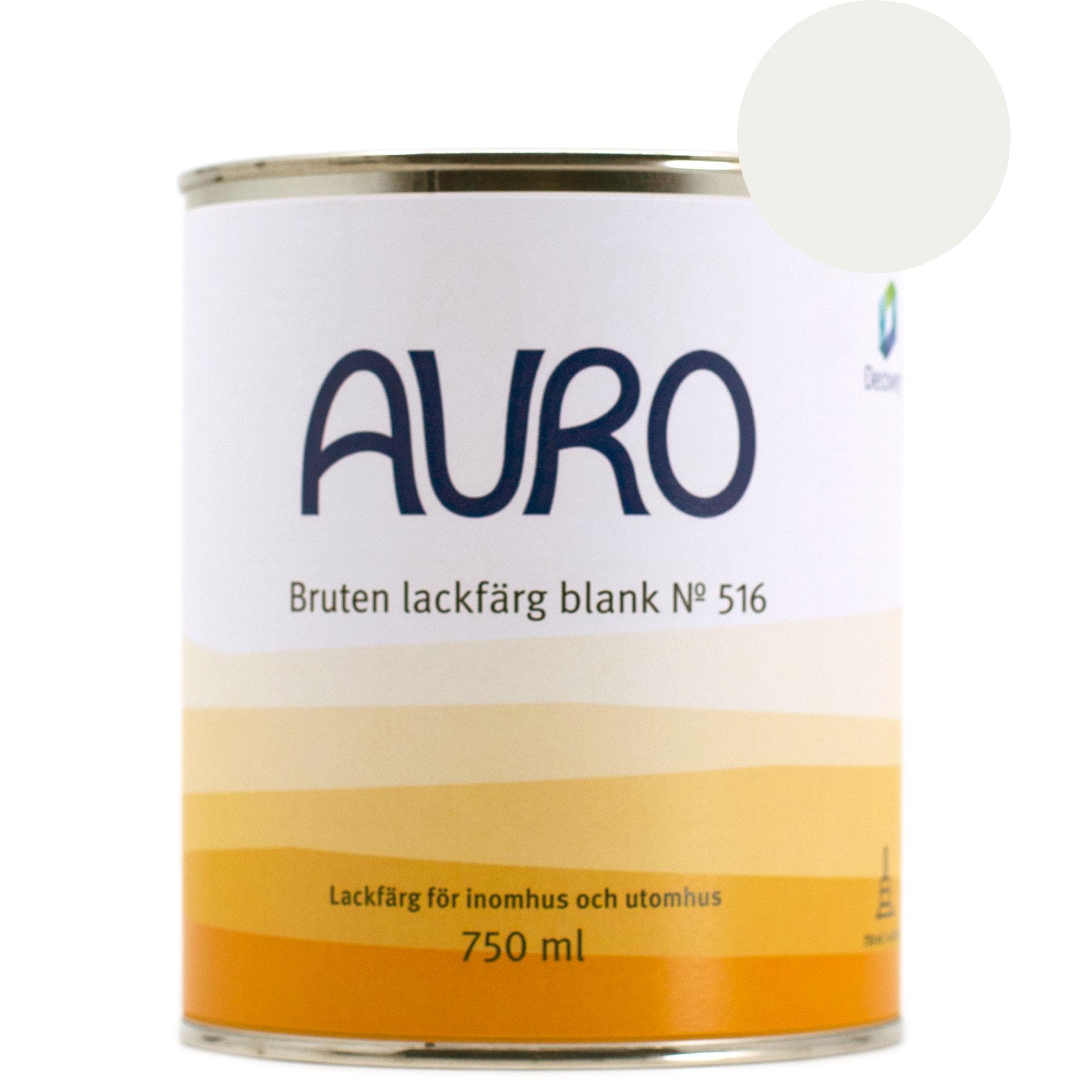 Lackfärg Blank 516 U - kulör: Marmorvit - 750 ml från Byggfabriken