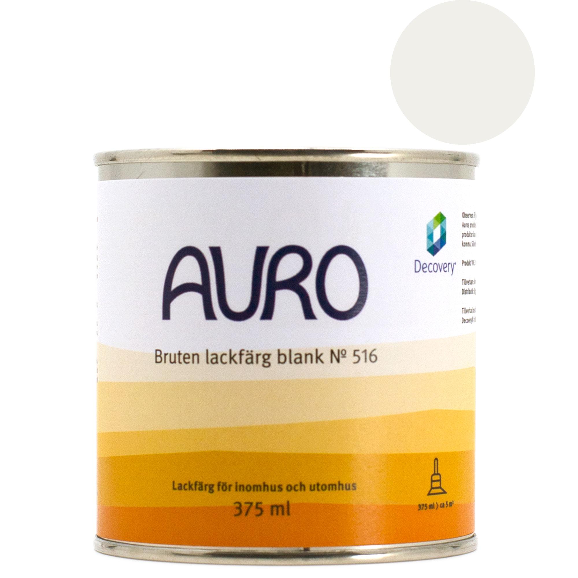 Lackfärg Blank 516 P - kulör: Marmorvit - 375 ml från Byggfabriken